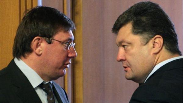 Луценко возмущен «подставой» от Порошенко с послом США и грозит отставкой — источник