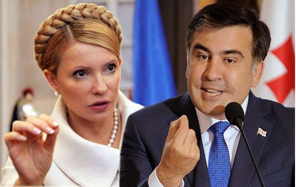Саакашвили: Тимошенко — чистый политик, ее не интересуют деньги и ее ненавидят олигархи