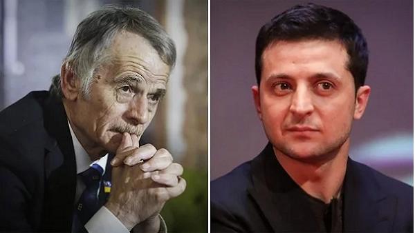 У Зеленского ответили на 5 вопросов активного члена БПП Джемилева об оккупированном Крыме