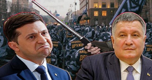 Министр Арсен Аваков пошел против президента Зеленского? Что стоит за скандалом в Золотом...