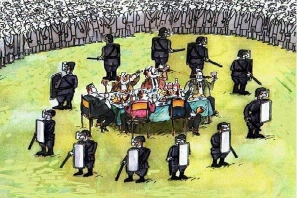 Теперь будет настоящая гражданская война... власти и богатых против нищего народа..., - Михаил Чаплыга