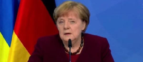 """Как поставили Зе буквой Зю: Ангела Меркель заявила о необходимости имплементации """"формулы Штайнмайера"""""""